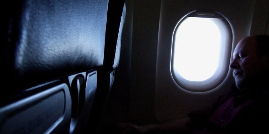 Sleeping in Premium Economy | Photo credit: J Mark Dodds [a shadow of my future self] on Visual hunt / CC BY-NC-ND